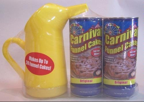 2 Pk Funnel Cake Mix & Pitcher Set -  27 oz.