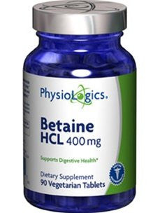 Betaine HCl 400 mg - 90 vtabs