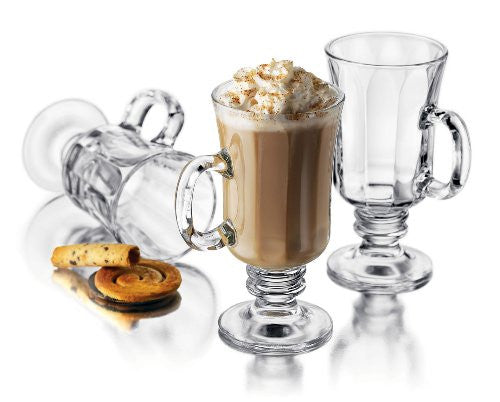 4 pc 8 1/4 oz Milan Irish Coffee