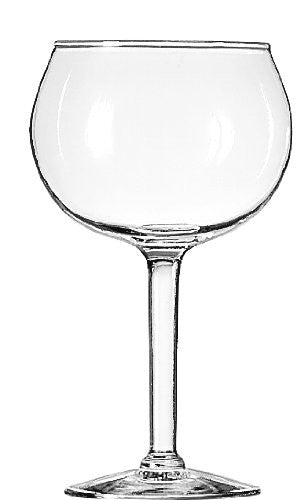 Libbey 13.75-Ounce Preston Red Wine Glass, Clear, 4-Piece