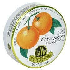 La Vie Orange Candy Drop, 2 Ounce -- 5 per case.