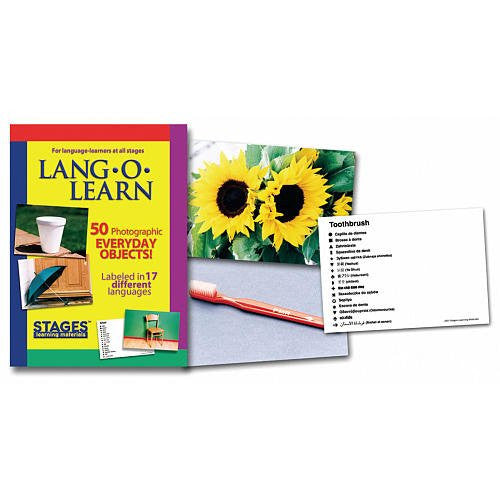 Lang-O-Learn Cards, Everyday Objects (Pack of 50)
