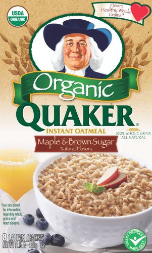 Quaker Instant Oatmeal Maple Brown Sugar 11.5 OZ