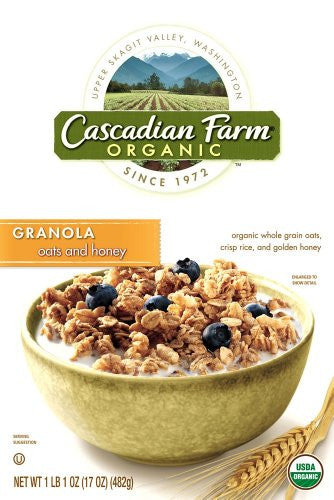 Cascadian Farms Oats & Honey Granola 17.0 OZ
