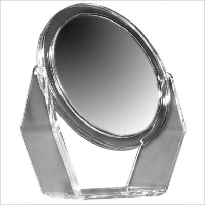 "Zadro 8-1/2"" Makeup Magnifying Vanity Mirror, Swivel, 5X and 1X Optics"