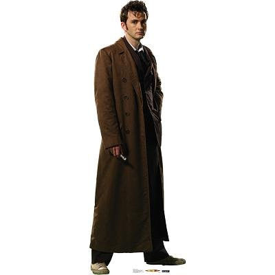 "Dr. Who - Overcoat 73"" x 26"" Stand-ups"