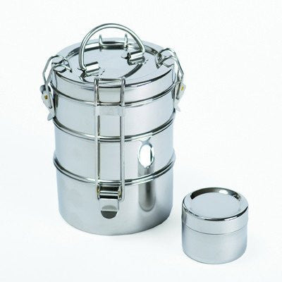 3-Tier Stainless Steel Tiffin - 1 - Container