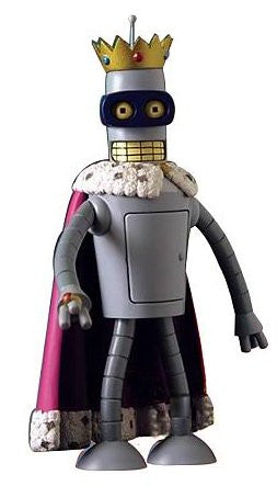 Futurama Toynami Series 5 Action Figure Super King Bender (Variety Pack)