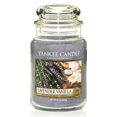 Yankee Candle 22 oz. Lavender Vanilla Jar Candle