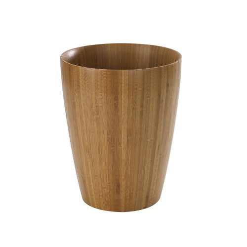 Umbra Boomba Bamboo Waste Can (Color: Natural)