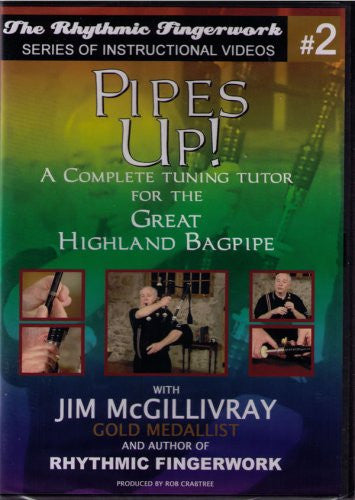 Pipes Up! DVD - A Complete Tuning Guide for the Great Highland Bagipe