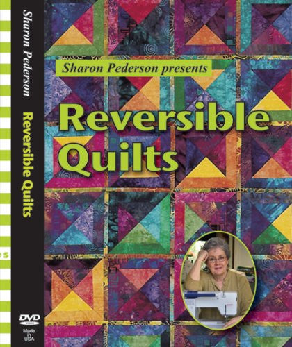 REVERSIBLE QUILTS   DVD (2008)