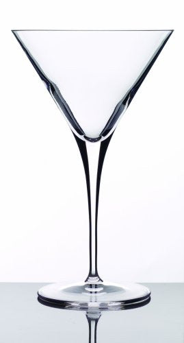 Luigi Bormioli Crescendo 10-1/4-Ounce Martini Glasses, Set of 4