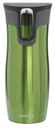 West Loop AUTOSEAL® Stainless Steel Tumbler Green 16oz