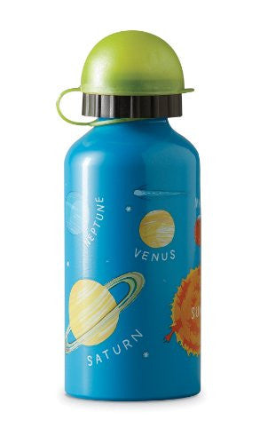 Crocodile Creek Stainless Steel Reusable Drinking Bottle - Solar System