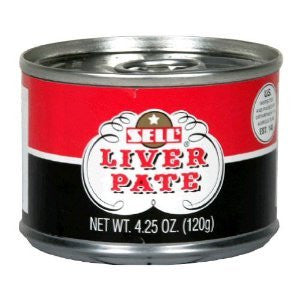 Sells, Pate Liver, 4.25 OZ (Pack of 6)