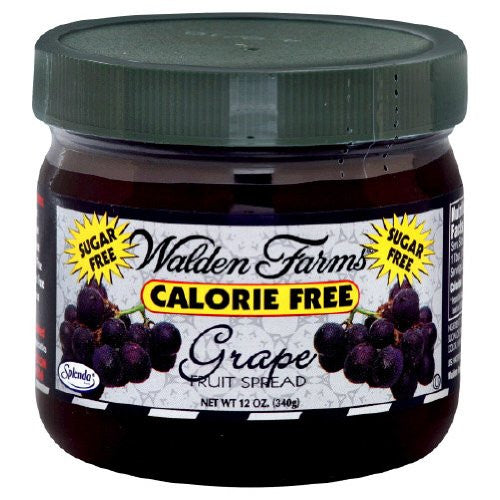 Walden Farms Grape Fruit Spead 12 Oz (Pack of 6)