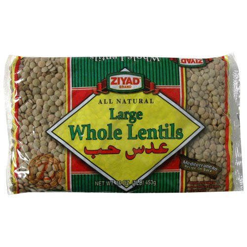 Ziyad Beans Lentils Dry Whole Bagged 16.0 OZ