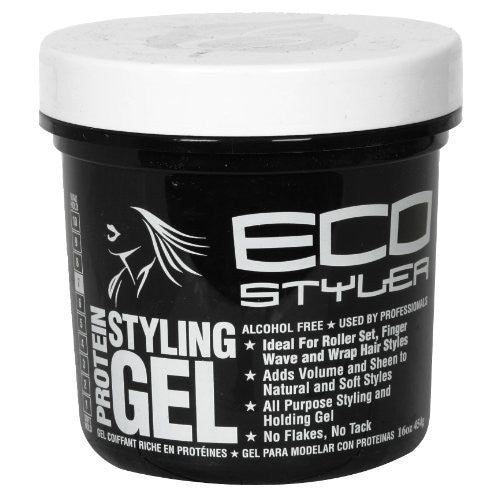 Protein Styling Gel - Black, 16oz.
