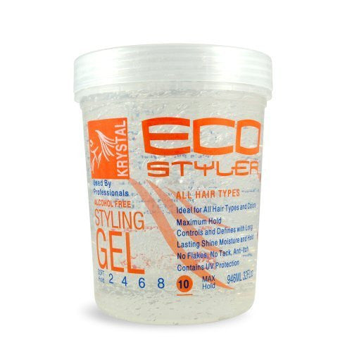 Krystal Styling Gel - Clear, 32oz