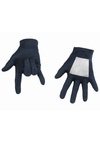 Black-Suited Spiderman Child Gloves (Standard)