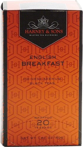 Premium English Breakfast - 20 tea bag box, Pack of 6 (120 ct)