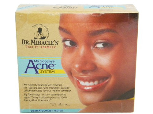 Dr. Miracles Feel It My Goodbye Acne System