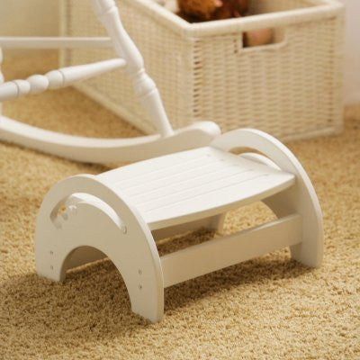 KidKraft Nursing Foot stool adjustable white MPN: 15101