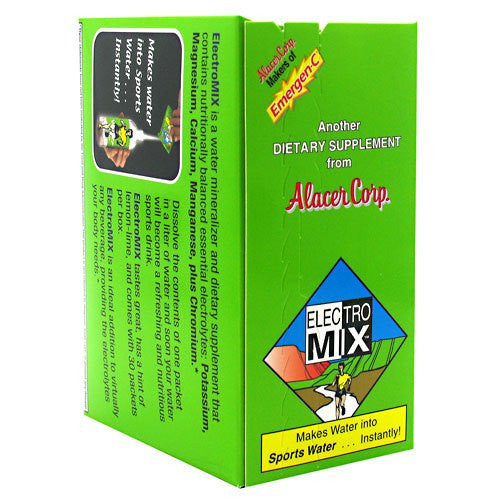 Alacer Electro Mix Natural Lemon Lime -- 30 Packets ( Multi-Pack)
