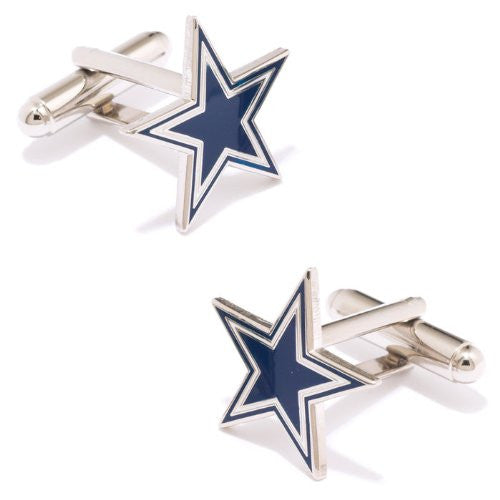 Buffalo Bills Cufflinks (Color: Dallas Cowboys)