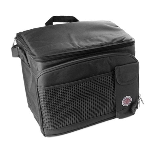 "Cooler Bag , 12"" x 10"" x 8.5"" , Black"