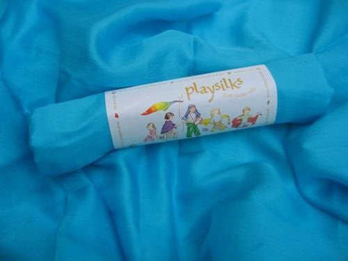 Single Turquoise Playsilk