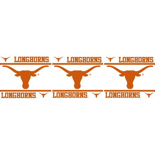 WALL BORDER Texas Longhorns - Color Multi - Size 0,5x15
