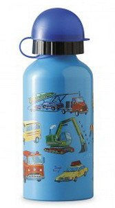 Crocodile Creek 13.5 oz 13.5 oz Stainless Steel Reusable Drinking Bottle - Vehicles