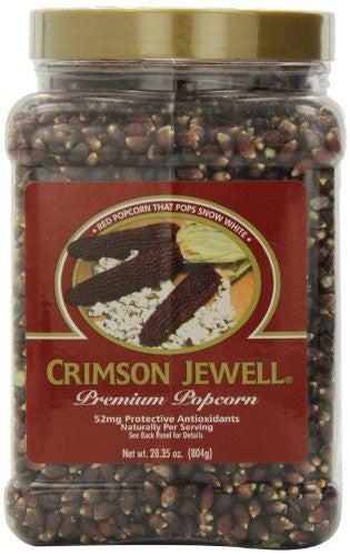 Black Jewell Crimson, Square Jar 28.35 OZ