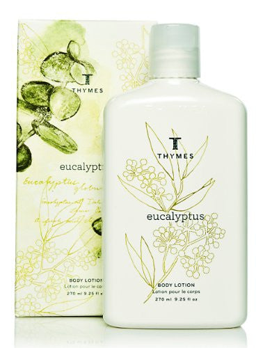 Thymes Body Lotion, Eucalyptus, 9.25-Ounce Bottle