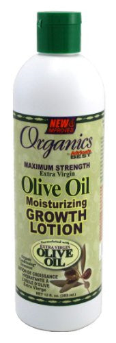 Africas Best Org Olive Oil Max Strength Growth Lotion 12oz