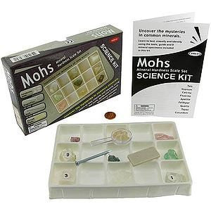 Mohs Mineral Hardness Scale Kit