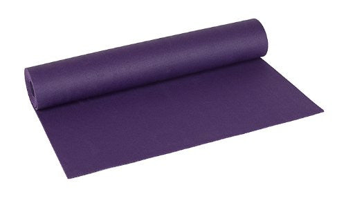 "Fusion 24"" x 68"" Yoga Mat (Color: Purple)"