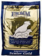 GOLD DOG REDUCED ACTIVE SENIOR 5 LB BG