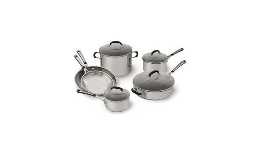 Simply Calphalon Stainless 10 Piece Set