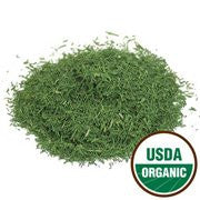 Dill Weed Organic Cut & Sifted - Anethum gramsraveolens, 1 lb