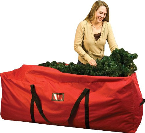 Santa's Bags 6'-9' Wheeled Tree Storage Bag (Large Size)