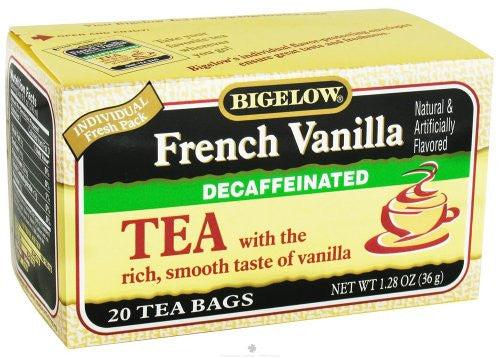 Bigelow French Vanilla Decaf Tea 20.0 BG