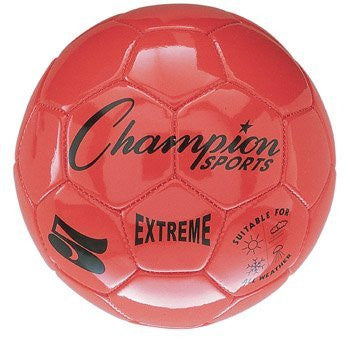 Champion Sports Extreme Series Soccer Ball Size 3 (Color: Orange (EX4OR) Size:)