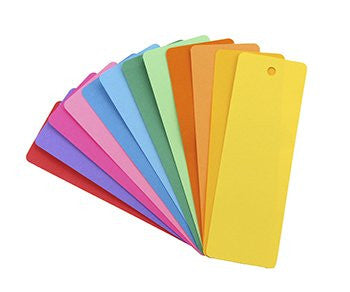 Bookmarks - 100 Assorted Colors