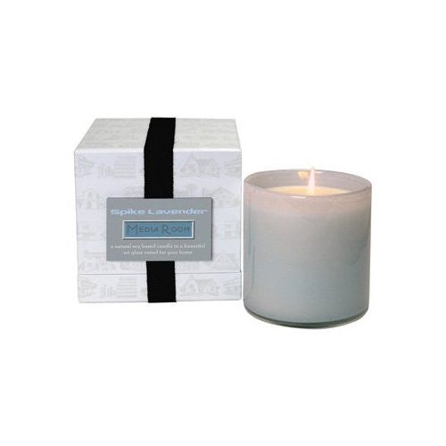 Spike Lavender Candle - Media Room - 16 oz.