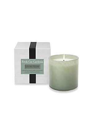 Fresh Cut Gardenia Candle - Living Room - 16 oz