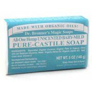Organic Bar Soap Baby Mild, Unscented - 5 oz