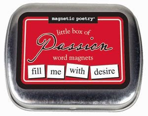 Magnetic Poetry - Little Box Of Passion